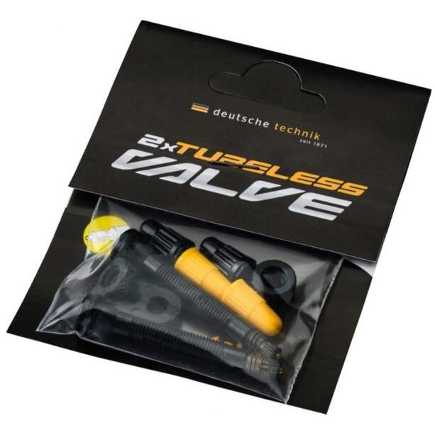 Continental Tubeless Valve Set SV 42mm svart