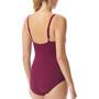 TYR Solids V-Neck Zip Controlfit Swimsuit Women pink