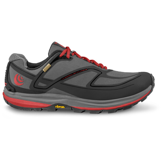 Topo Athletic Hydroventure 2 Chaussures de trail Homme, gris/rouge