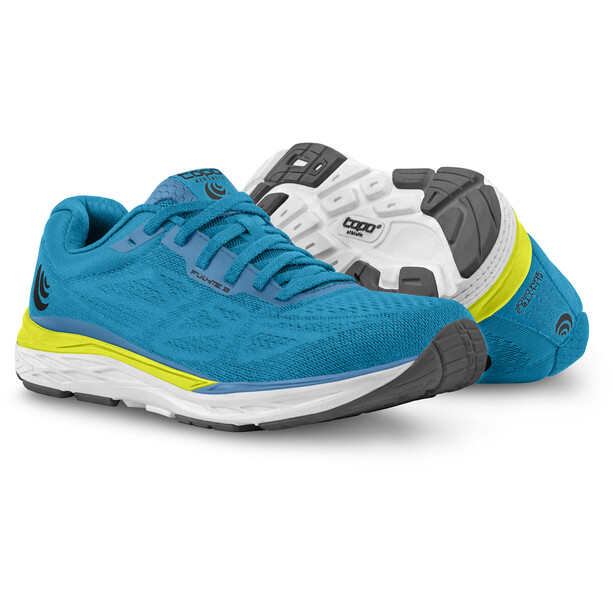 Topo Athletic Fli-Lyte 3 Laufschuhe Herren blue/yellow