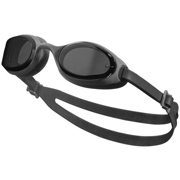 Nike Swim Hyper Flow Brille dark smoke grey