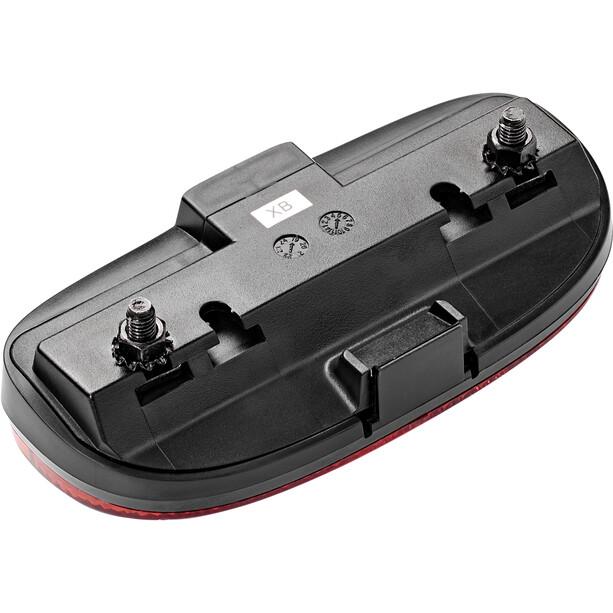 spanninga Duxo XB Batterie Rücklicht black