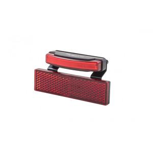 spanninga Pimento XDS Dynamo Rücklicht mit RR02 Reflektor + BR06 rot rot