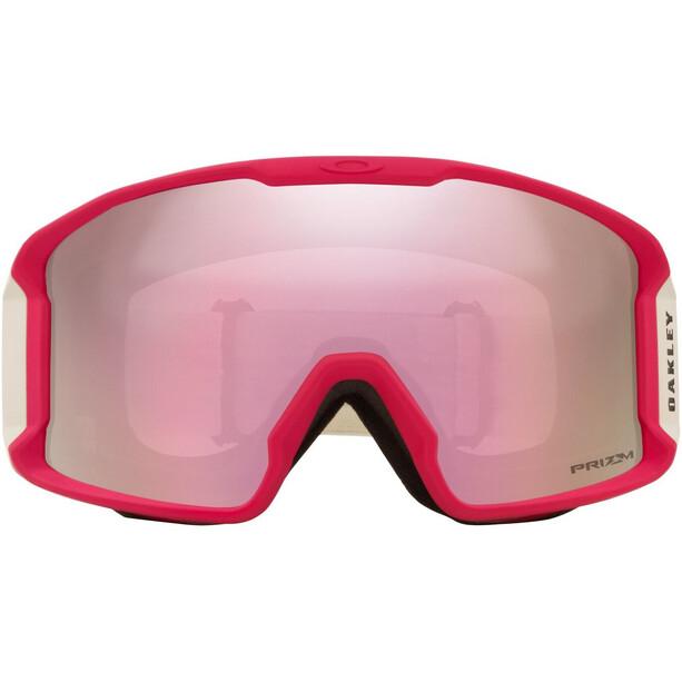 Oakley Line Miner XM Lunettes de ski Femme, rouge/blanc