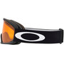 Oakley O-Frame 2.0 Pro XL Schneebrille Damen black/persimmon & dark grey