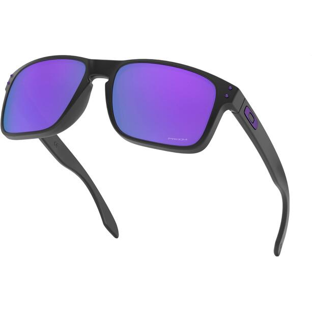 Oakley Holbrook Solbriller Herrer, sort/violet