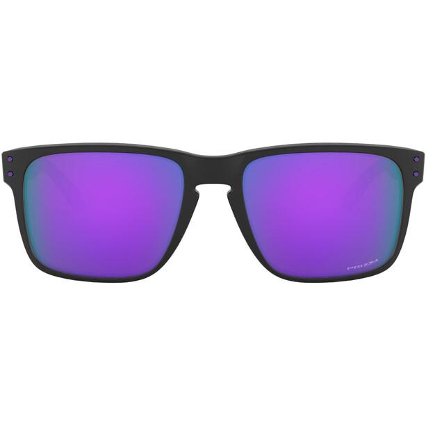 Oakley Holbrook XL Lunettes de soleil Homme, noir/violet
