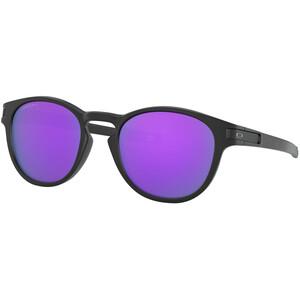 Oakley Latch Sonnenbrille Damen matte black/prizm violet matte black/prizm violet