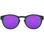 Oakley Latch Sonnenbrille Damen matte black/prizm violet