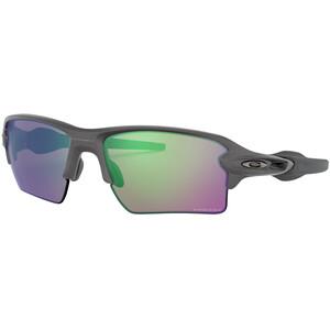 Oakley Flak 2.0 XL Sonnenbrille Herren steel/prizm road jade steel/prizm road jade