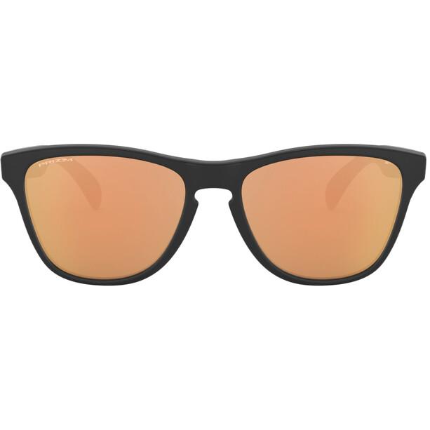 Oakley Frogskins XS Solbriller Unge, sort/guld
