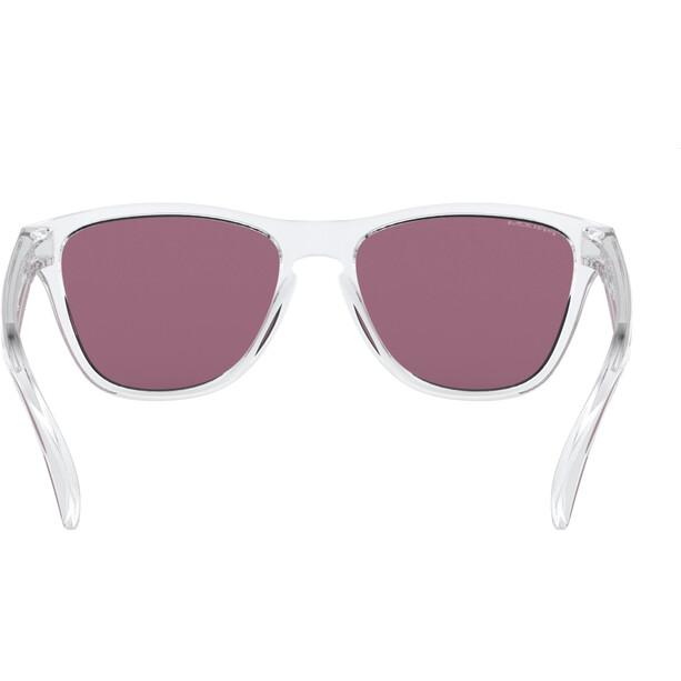 Oakley Frogskins XS Sonnenbrille Jugend polished clear/prizm jade