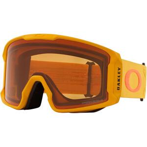Oakley Line Miner XL Schneebrille Herren prizm icon mustard yellow oran/prizm persimmon prizm icon mustard yellow oran/prizm persimmon