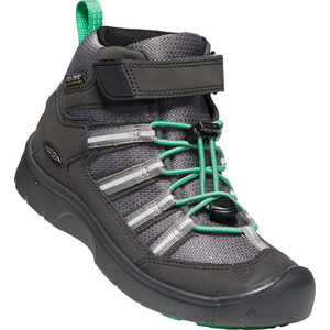 Keen Hikeport 2 Sport Mid WP Schuhe Kinder black/irish green black/irish green