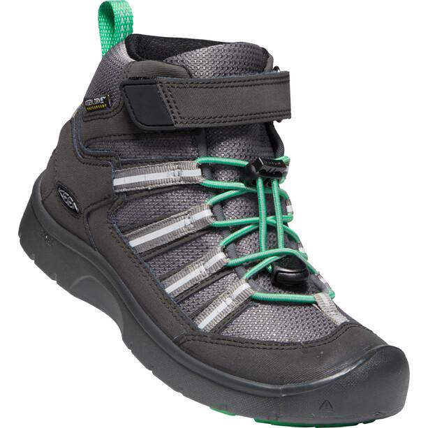 Keen Hikeport 2 Sport Mid WP Schuhe Kinder black/irish green