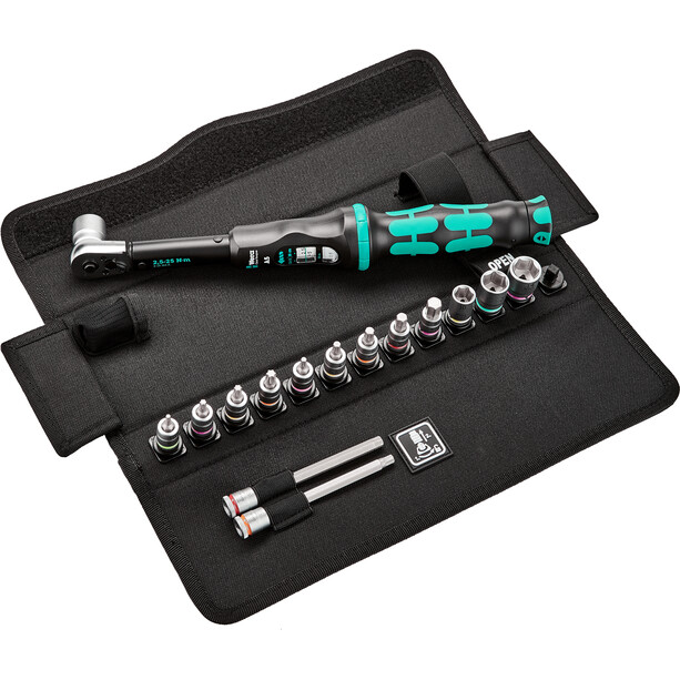 Wera Bicycle Set 1 Kit de clés dynamométriques