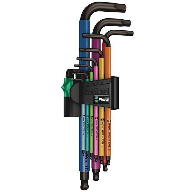 Wera 950 Hex-Plus Multicolour Winkelschlüssel-Set mit 9 Teilen