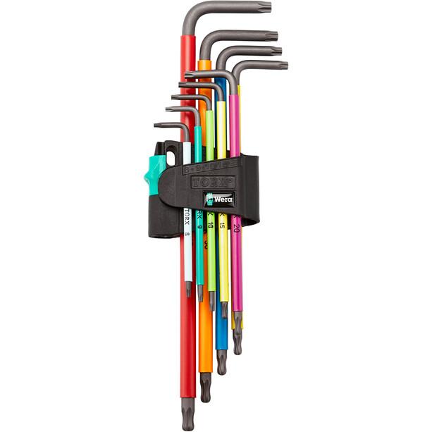 Wera 967 TX XL Multicolour Sechskant Winkelschlüssel-Set mit 9 Teilen Lang