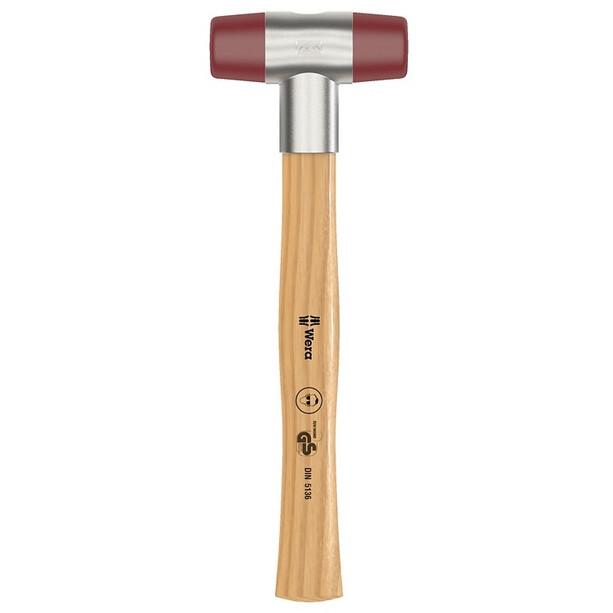 Wera 102 Schonhammer mit Urethan Köpfen 22mm