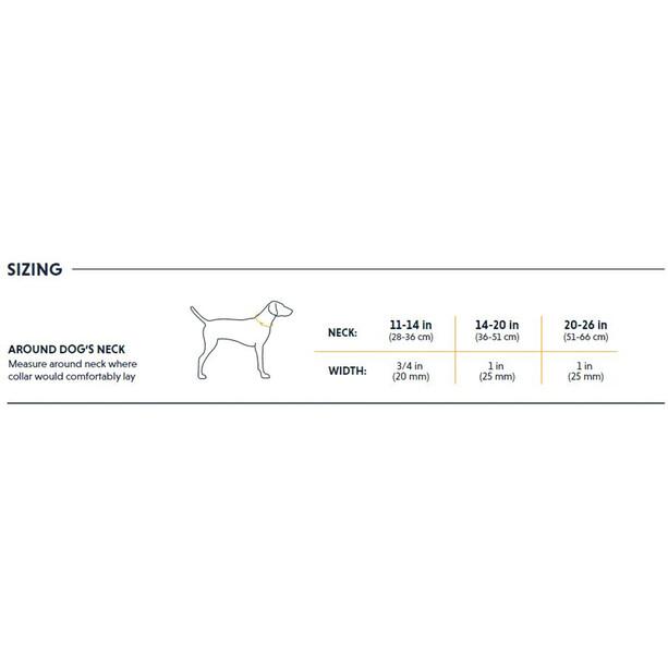 Ruffwear Chain Reaction Halsband grau/silber