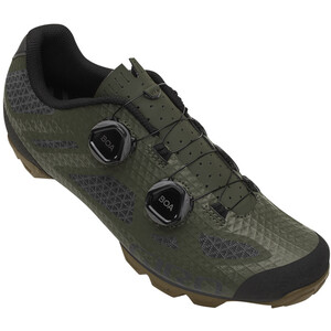 Giro Sector MTB Shoes Men オリーブ/ガム