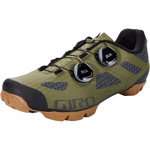 Giro Sector MTB Schuhe Herren olive/gum olive/gum