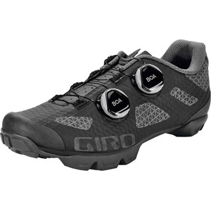 Giro Sector MTB sko Damer, black/dark shadow black/dark shadow