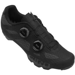 Giro Sector MTB Schuhe Damen black/dark shadow black/dark shadow