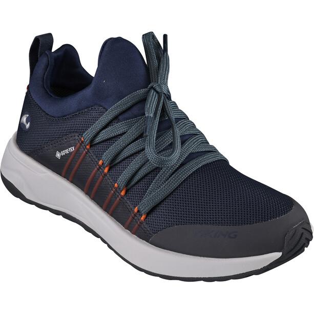 Viking Footwear Engenes GTX Schuhe Kinder blau/orange