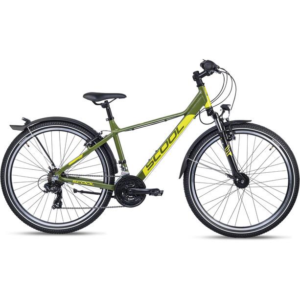 s'cool troX EVO 26 21-S 2. Wahl Kids green/lemon matt