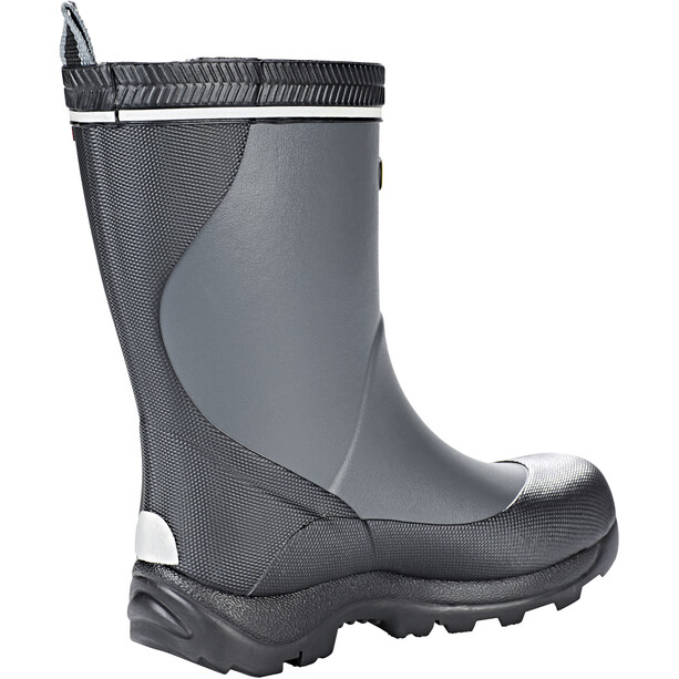 Viking Footwear Storm Rubber Boots Kids dark grey/multi