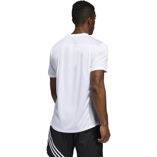 adidas Run It Kurzarm T-Shirt Herren white