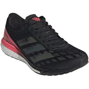 adidas Adizero Boston 9 Schuhe Damen core black/core black/signal pink core black/core black/signal pink