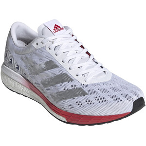 adidas Adizero Boston 9 BS Schuhe Herren footwear white/silver metal footwear white/silver metal
