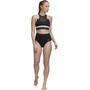 adidas SH3.ro Highwaist Bikinihose Damen black/white
