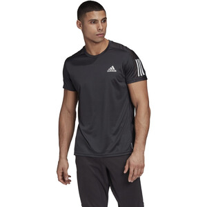 adidas OWN The Run Kurzarm T-Shirt Herren black black