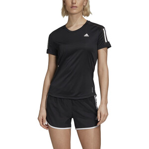 adidas OWN The Run Kurzarm T-Shirt Damen black black
