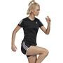 adidas OWN The Run Kurzarm T-Shirt Damen black
