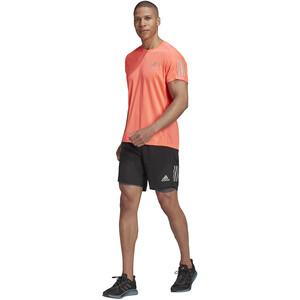 "adidas OWN The Run 2N1 Shorts 5"" Men, black/grey six black/grey six"