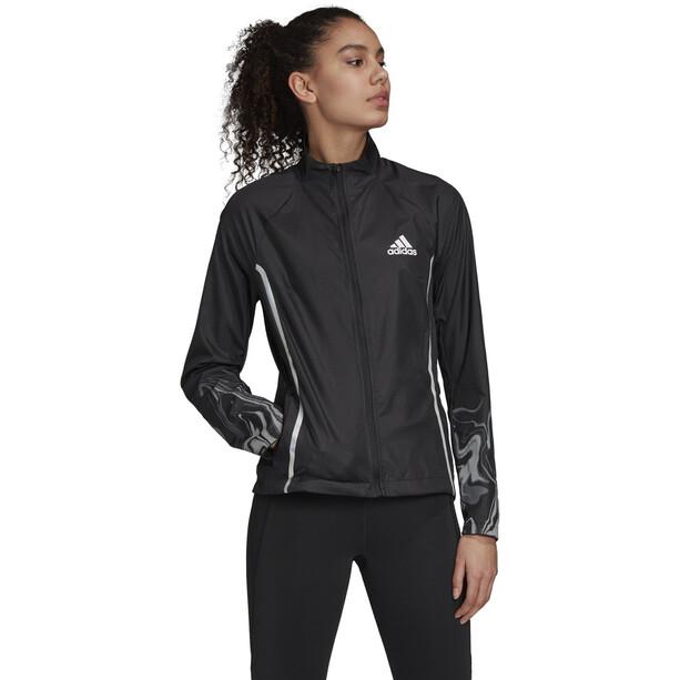 adidas Glam On Jacke Damen black/reflective silver