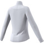 adidas Warm 1/2 Zip Shirt Damen dash grey