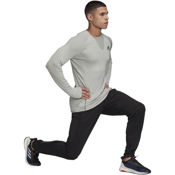 adidas Adi Runner Langarmshirt Herren metal grey