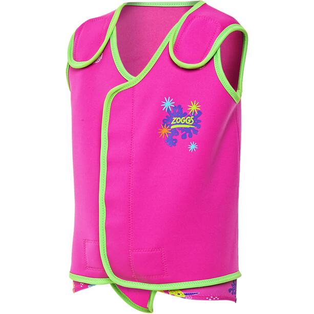 Zoggs Sea Unicorn Baby Wrap Mädchen pink