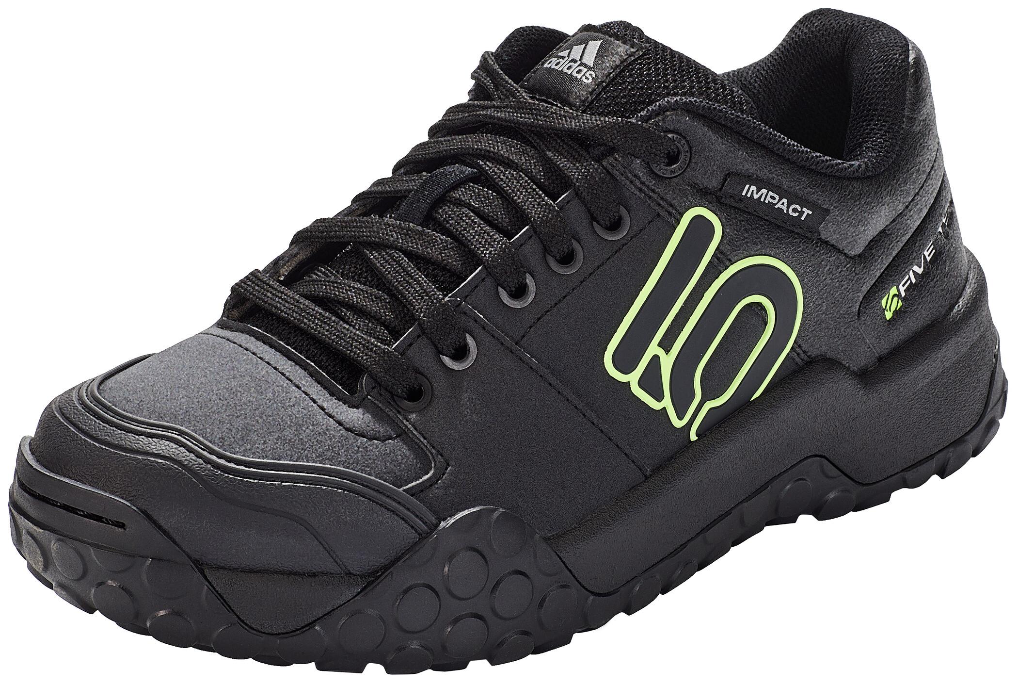adidas Five Ten Impact Sam Hill Chaussures VTT Homme, noir/vert