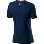 Castelli Logo T-Shirt Herren dark infinity blue