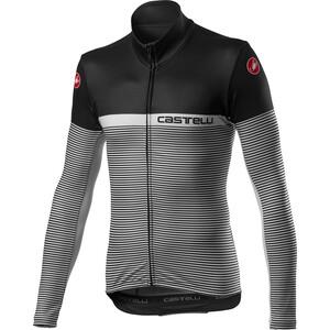 Castelli Marinaio Full-Zip Langarm Trikot Herren black/silver grey black/silver grey