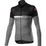 Castelli Marinaio Full-Zip Langarm Trikot Herren black/silver grey