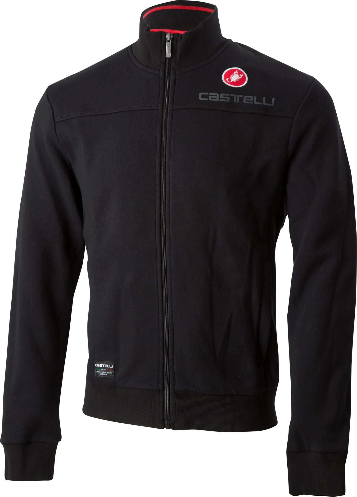 Castelli Milano Track Jacke Herren black
