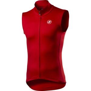 Castelli Pro Thermal Mid Liivi Miehet, punainen punainen