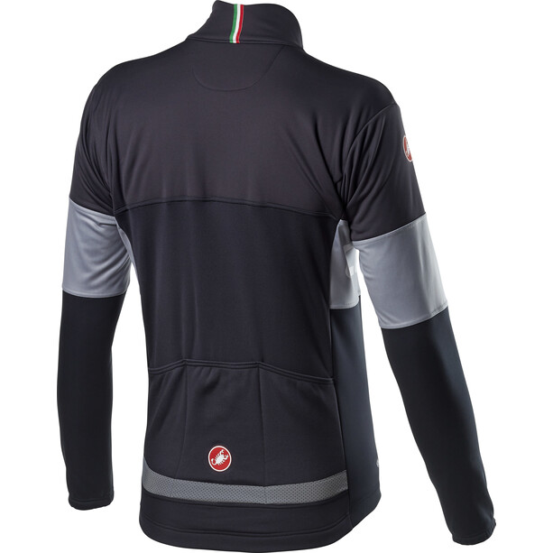 Castelli Prologo Jacke Herren dark grey/vortex grey/light black